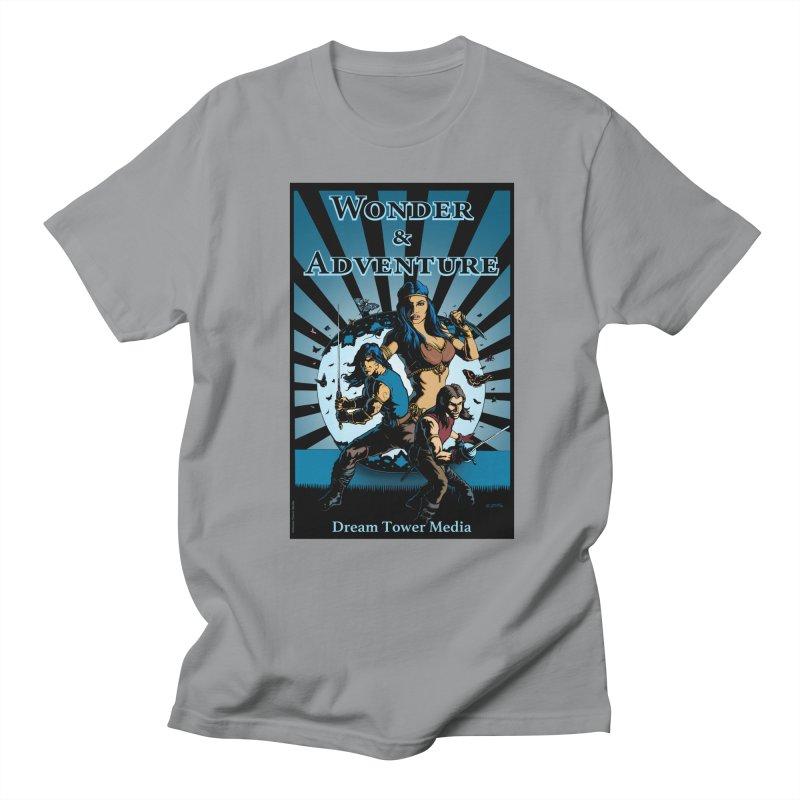 Dream Tower Media Wonder & Adventure T-Shirt Men's Regular T-Shirt by ZoltanArt