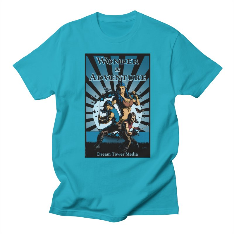 Dream Tower Media Wonder & Adventure T-Shirt Men's Regular T-Shirt by ZoltanArt