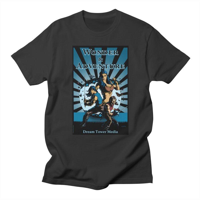 Dream Tower Media Wonder & Adventure T-Shirt Women's Regular Unisex T-Shirt by ZoltanArt