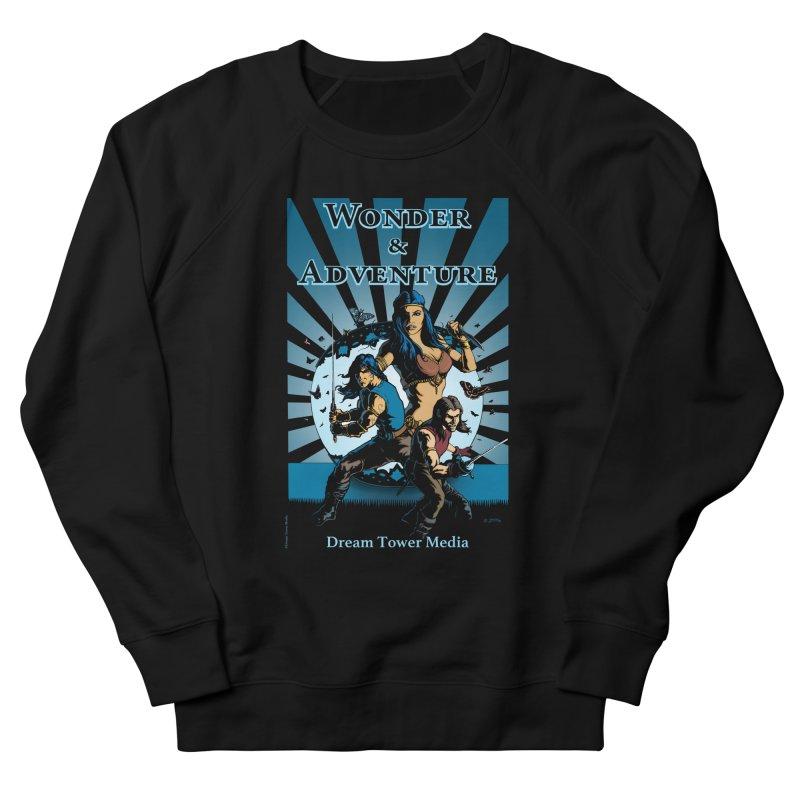 Dream Tower Media Wonder & Adventure T-Shirt Women's French Terry Sweatshirt by ZoltanArt