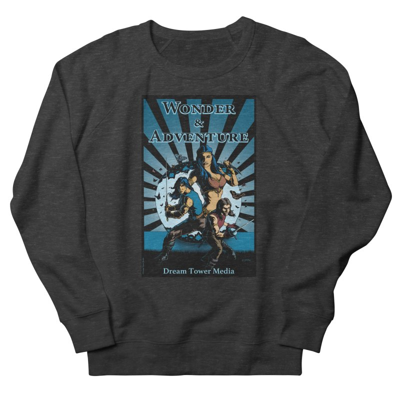 Dream Tower Media Wonder & Adventure T-Shirt Men's French Terry Sweatshirt by ZoltanArt