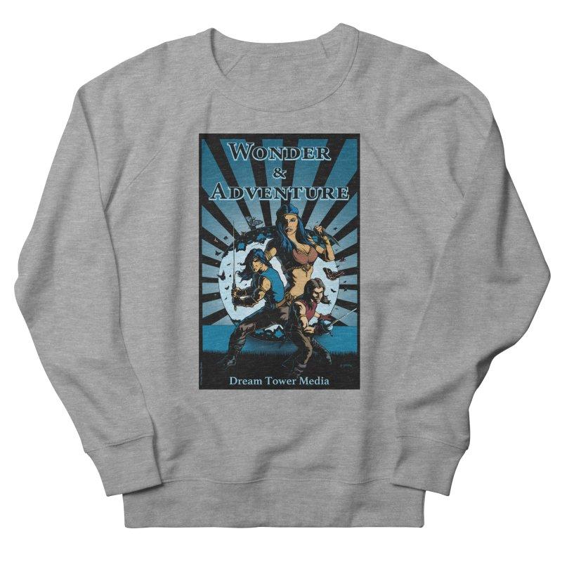 Dream Tower Media Wonder & Adventure T-Shirt Men's French Terry Sweatshirt by ZoltanArt