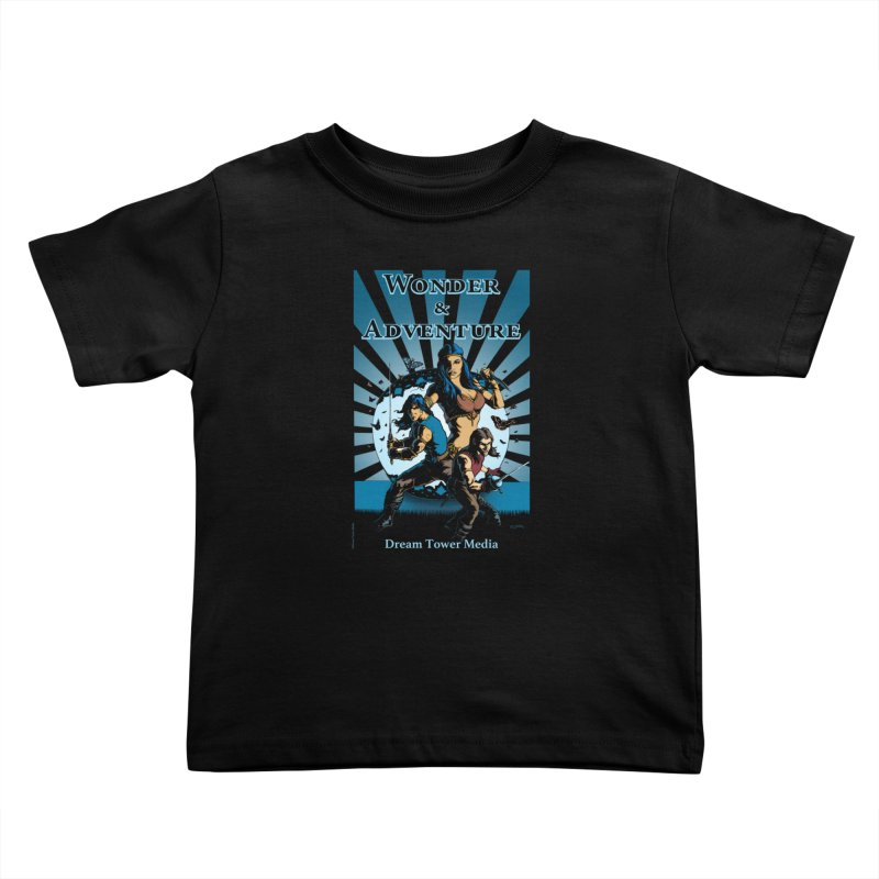 Dream Tower Media Wonder & Adventure T-Shirt Kids Toddler T-Shirt by ZoltanArt