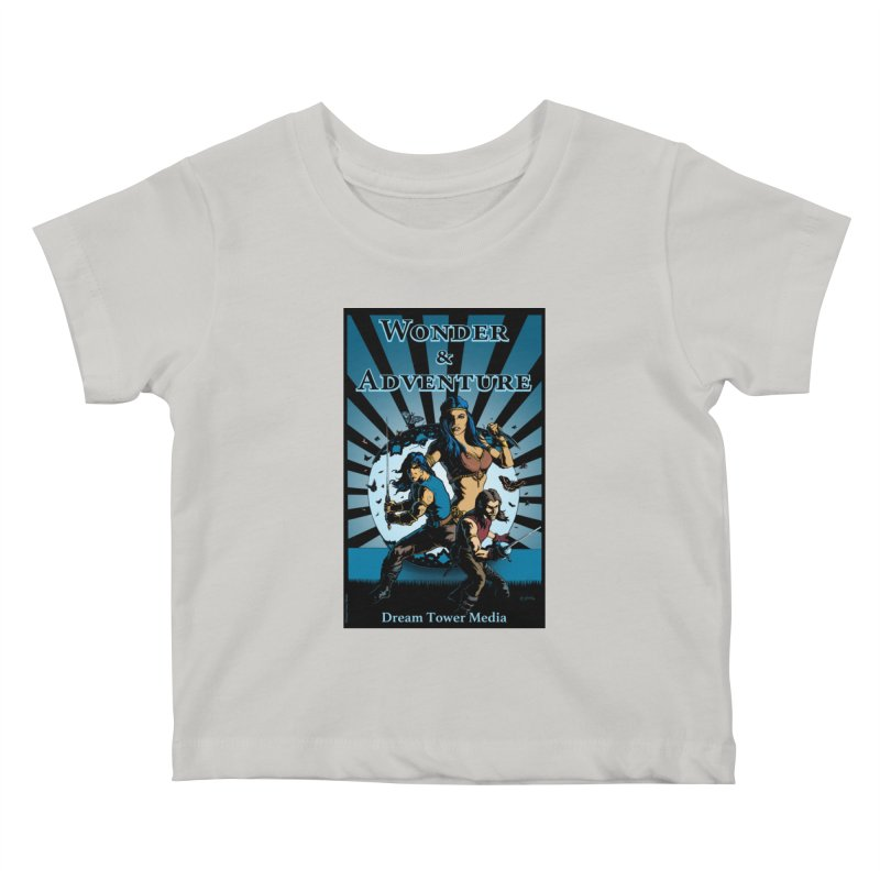Dream Tower Media Wonder & Adventure T-Shirt Kids Baby T-Shirt by ZoltanArt