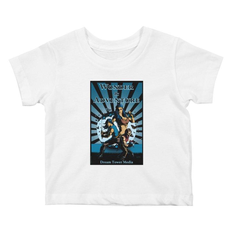 Dream Tower Media Wonder & Adventure T-Shirt Kids Baby T-Shirt by ZoltanArt