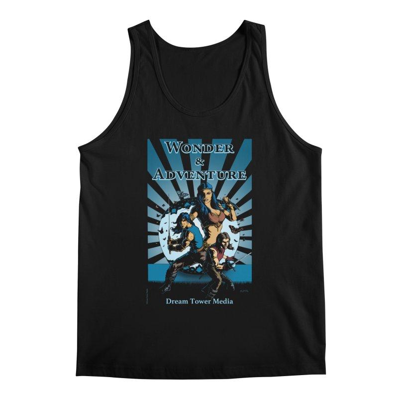 Dream Tower Media Wonder & Adventure T-Shirt Men's Regular Tank by ZoltanArt