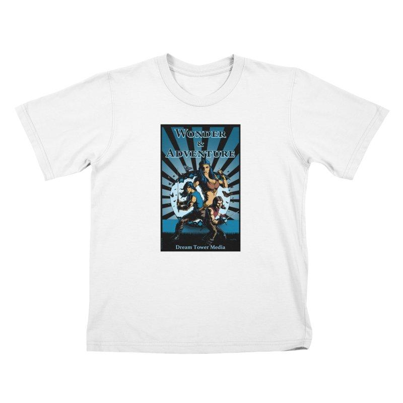 Dream Tower Media Wonder & Adventure T-Shirt Kids T-Shirt by ZoltanArt