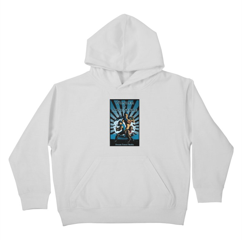 Dream Tower Media Wonder & Adventure T-Shirt Kids Pullover Hoody by ZoltanArt
