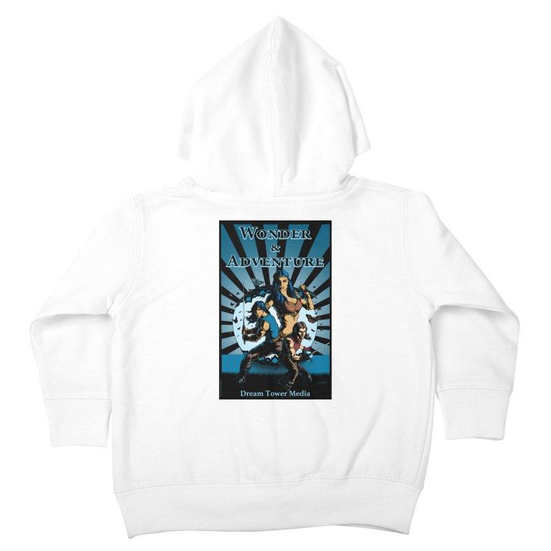 Dream Tower Media Wonder & Adventure T-Shirt Kids Toddler Zip-Up Hoody by ZoltanArt