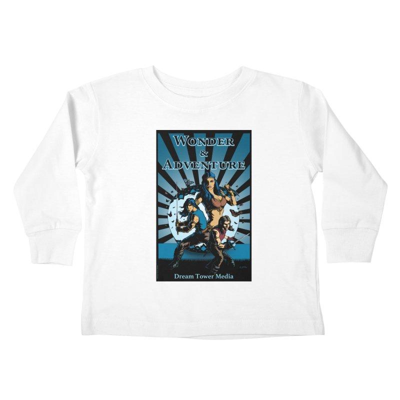 Dream Tower Media Wonder & Adventure T-Shirt Kids Toddler Longsleeve T-Shirt by ZoltanArt