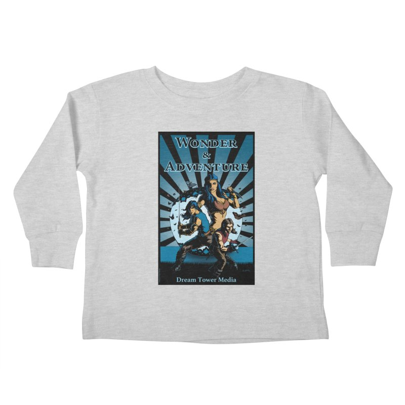 Dream Tower Media Wonder & Adventure T-Shirt Kids Toddler Longsleeve T-Shirt by ZoltanArt