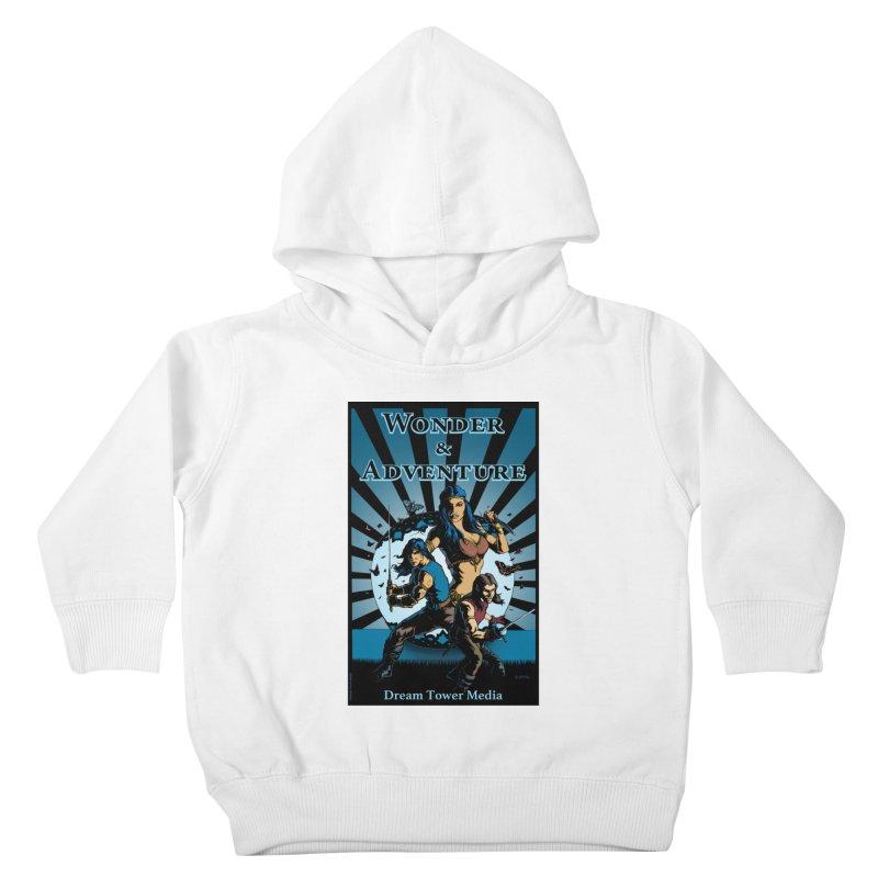 Dream Tower Media Wonder & Adventure T-Shirt Kids Toddler Pullover Hoody by ZoltanArt