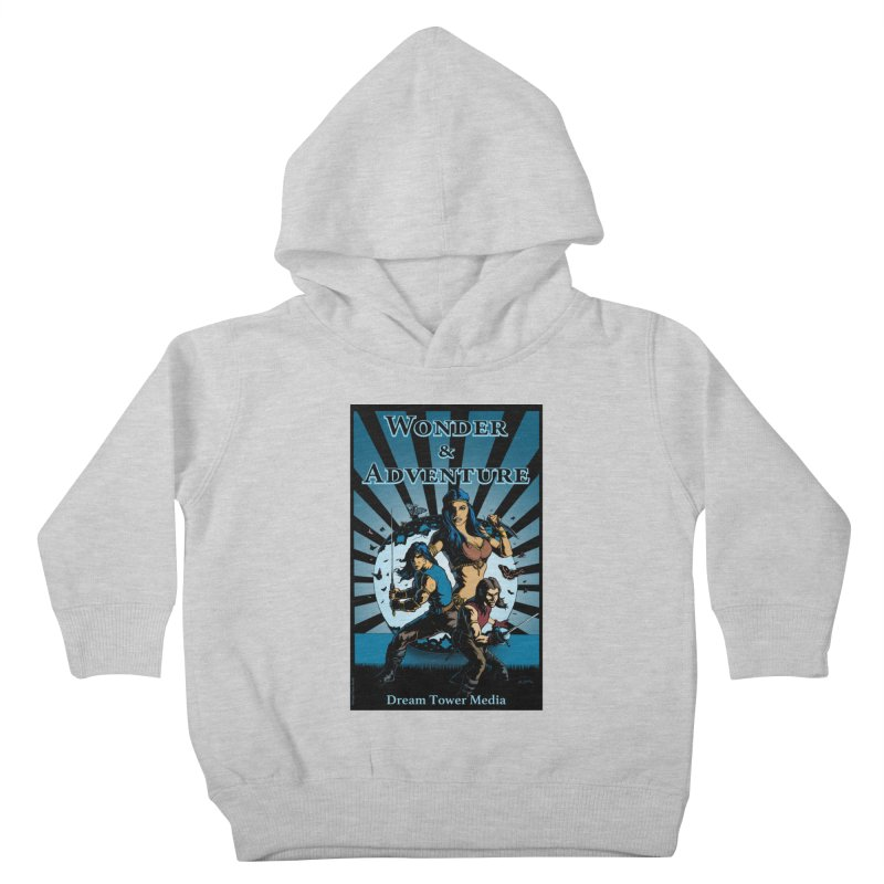 Dream Tower Media Wonder & Adventure T-Shirt Kids Toddler Pullover Hoody by ZoltanArt