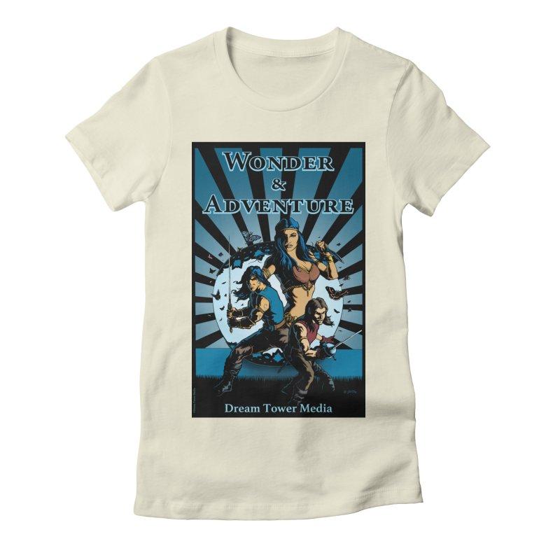 Dream Tower Media Wonder & Adventure T-Shirt Women's Fitted T-Shirt by ZoltanArt