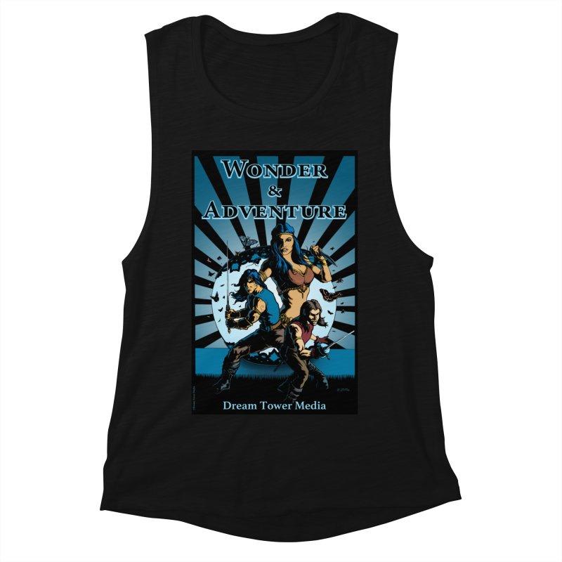 Dream Tower Media Wonder & Adventure T-Shirt Women's Tank by ZoltanArt