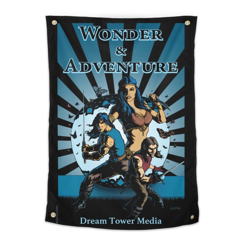 Dream Tower Media Wonder & Adventure T-Shirt Home Tapestry by ZoltanArt