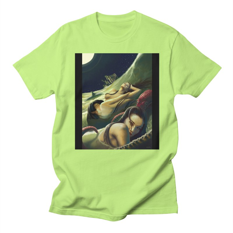 Sea of Oblivion Men's Regular T-Shirt by ZoltanArt