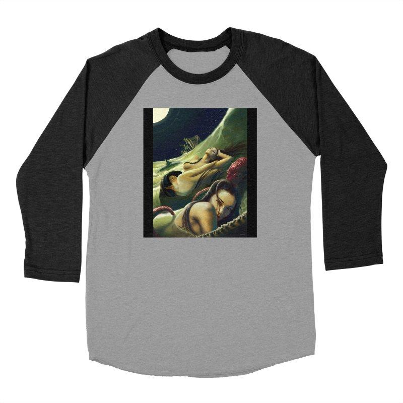 Sea of Oblivion Men's Baseball Triblend Longsleeve T-Shirt by ZoltanArt