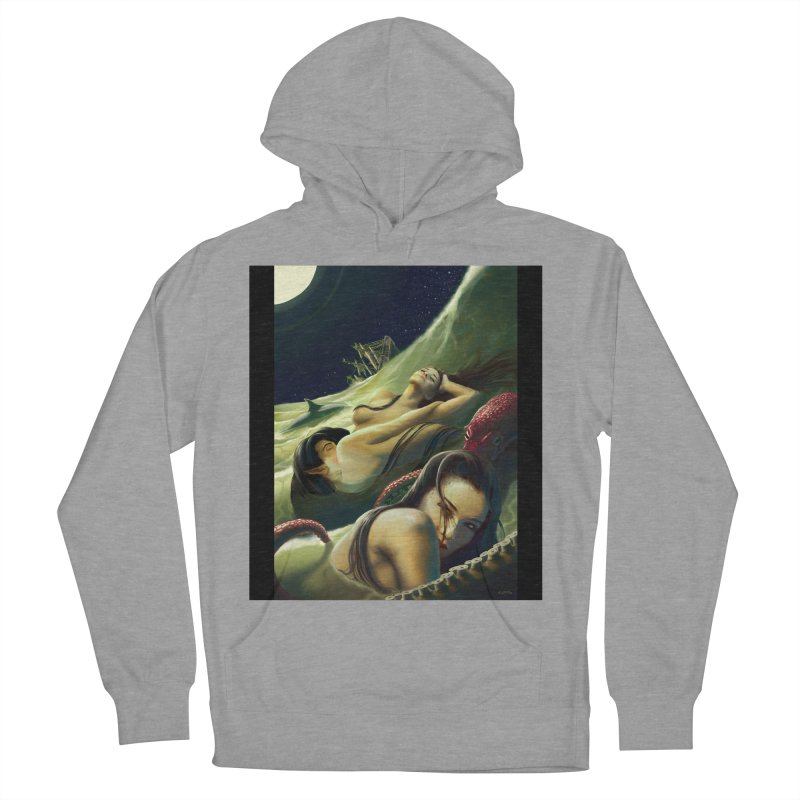 Sea of Oblivion Women's French Terry Pullover Hoody by ZoltanArt