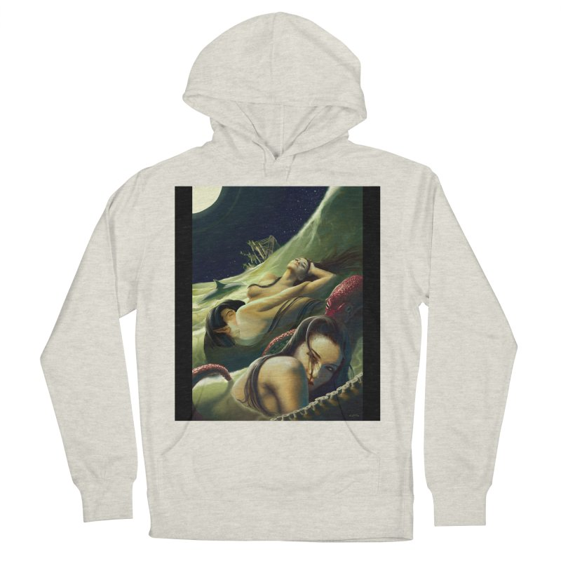 Sea of Oblivion Men's French Terry Pullover Hoody by ZoltanArt