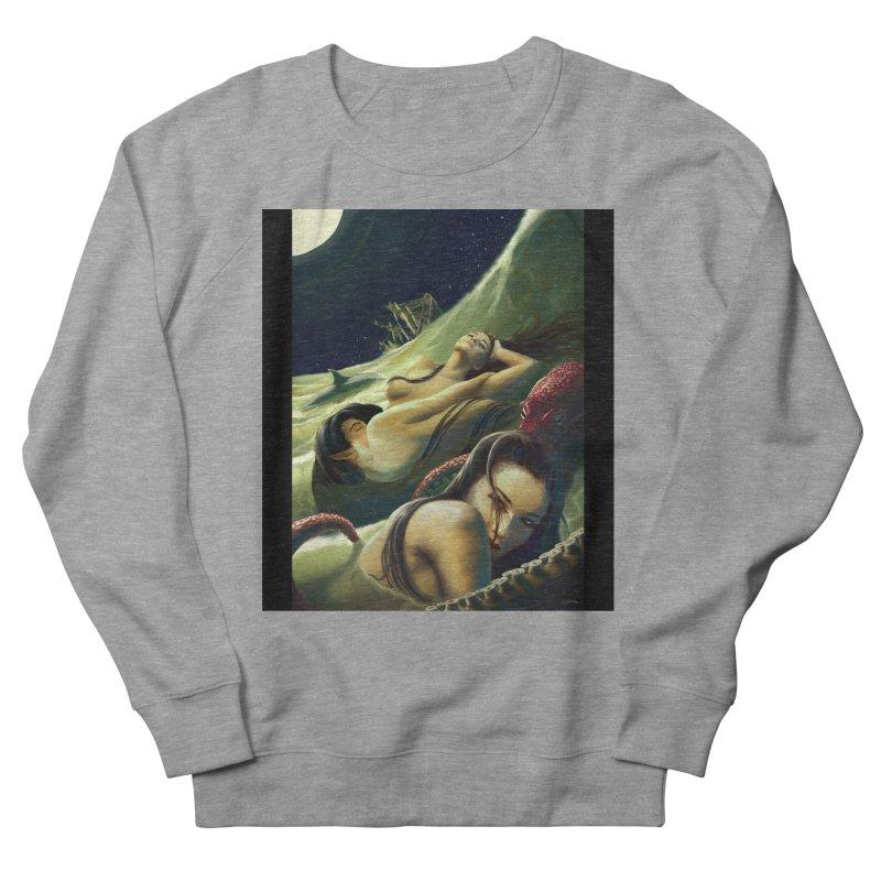 Sea of Oblivion Women's French Terry Sweatshirt by ZoltanArt