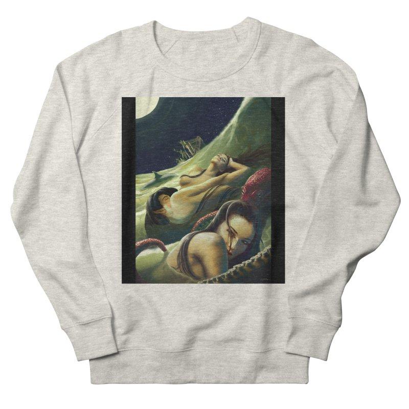 Sea of Oblivion Men's French Terry Sweatshirt by ZoltanArt