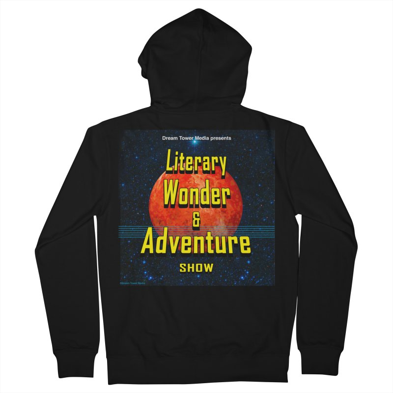 Literary Wonder & Adventure Show Men's French Terry Zip-Up Hoody by ZoltanArt