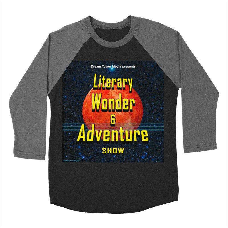 Literary Wonder & Adventure Show Men's Baseball Triblend T-Shirt by ZoltanArt