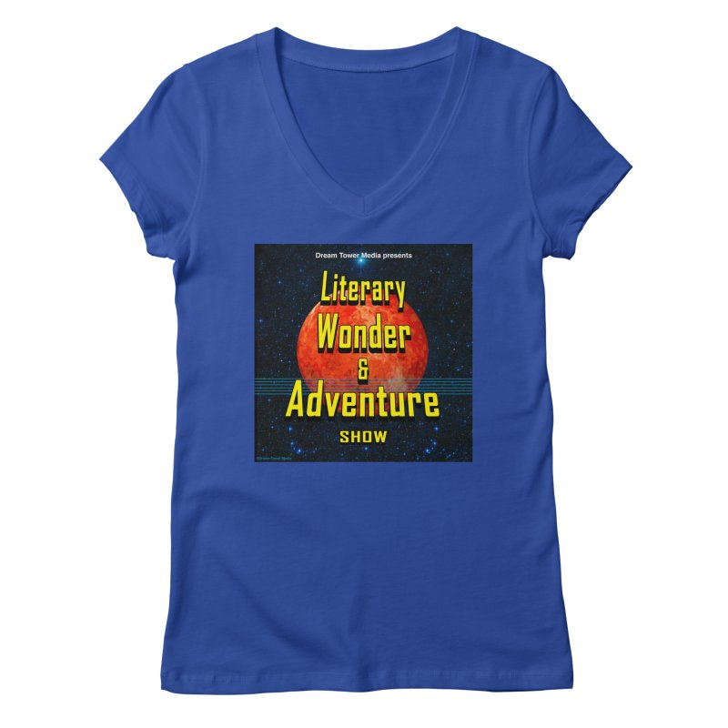 Literary Wonder & Adventure Show Women's Regular V-Neck by ZoltanArt