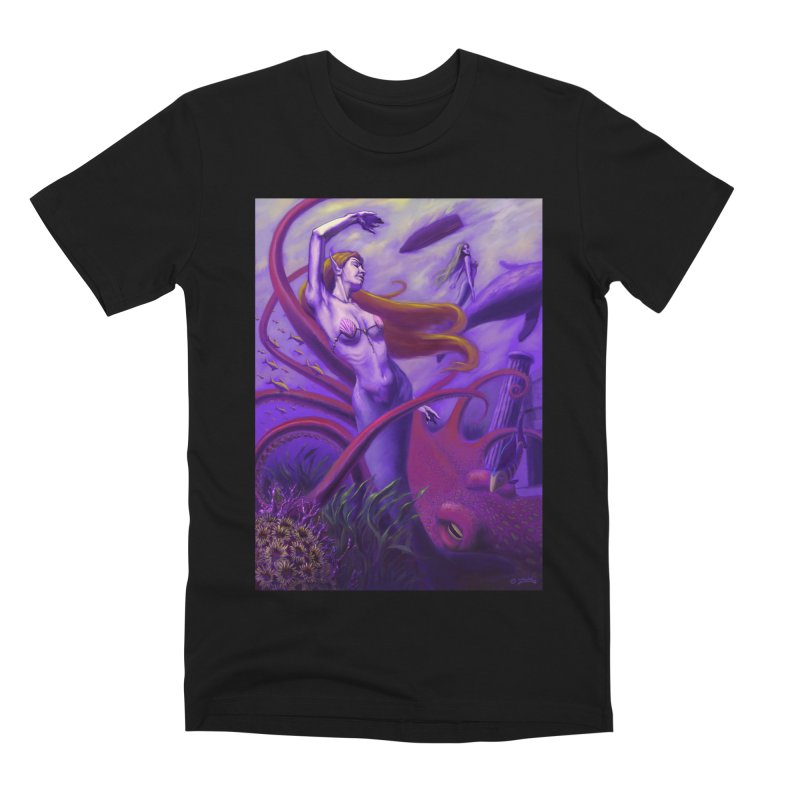 Sea of Bliss Men's Premium T-Shirt by ZoltanArt