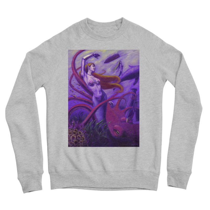 Sea of Bliss Men's Sponge Fleece Sweatshirt by ZoltanArt