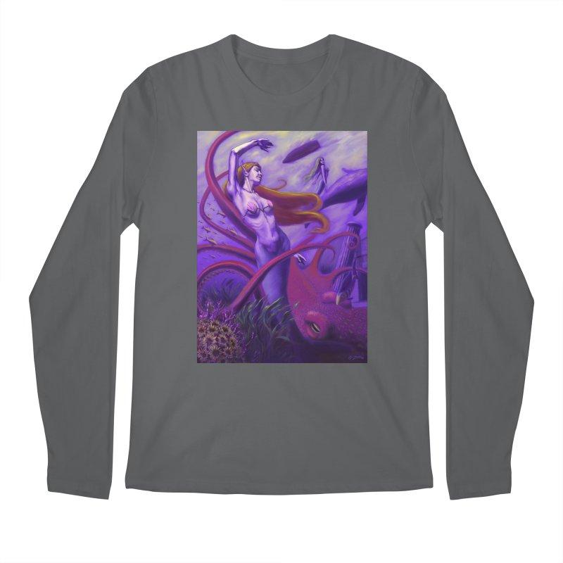 Sea of Bliss Men's Longsleeve T-Shirt by ZoltanArt