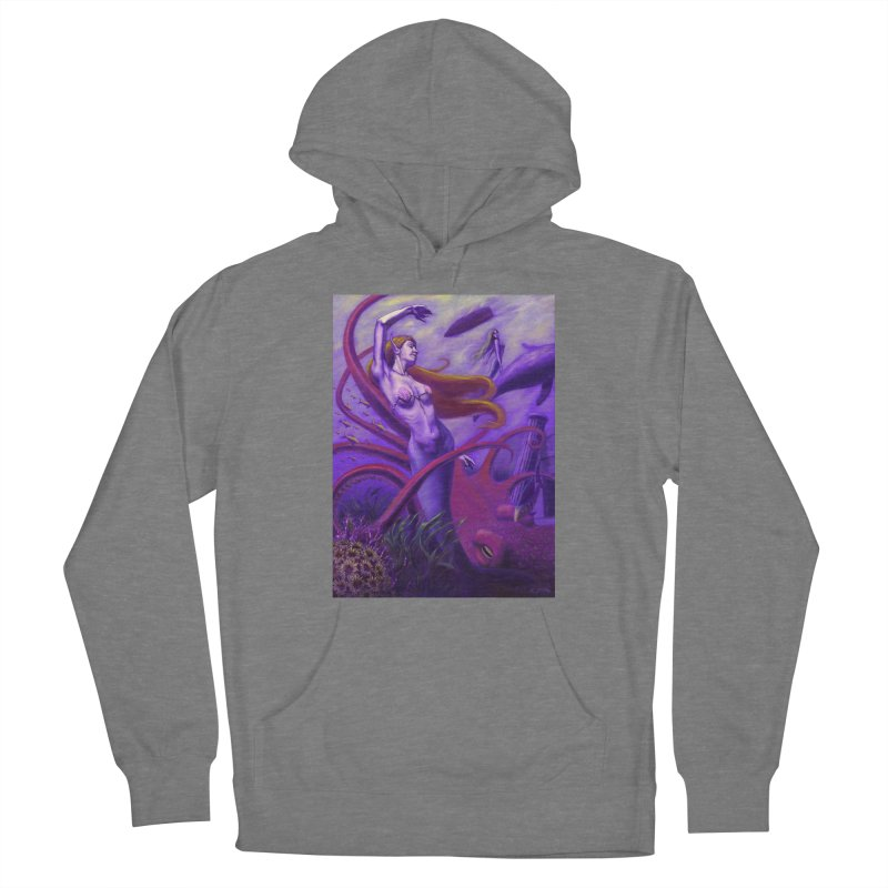 Sea of Bliss Men's French Terry Pullover Hoody by ZoltanArt