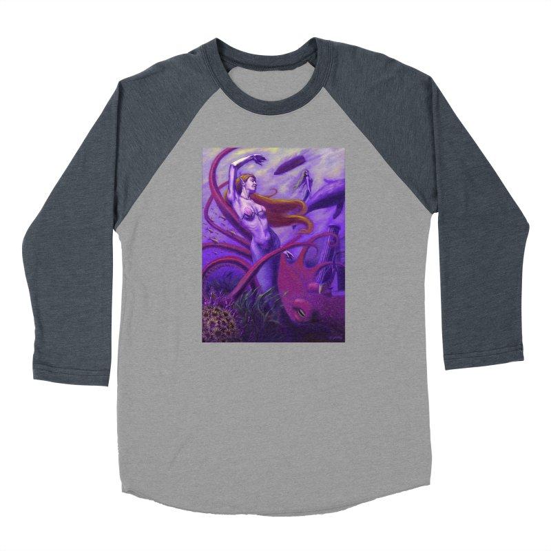 Sea of Bliss Women's Baseball Triblend Longsleeve T-Shirt by ZoltanArt