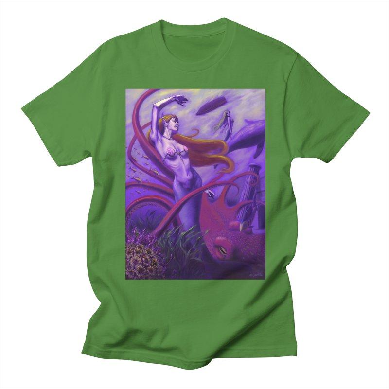 Sea of Bliss Men's Regular T-Shirt by ZoltanArt