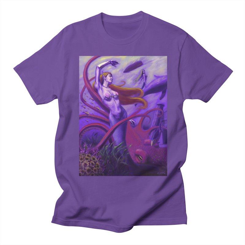 Sea of Bliss Women's Regular Unisex T-Shirt by ZoltanArt