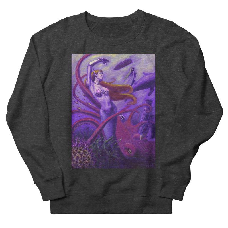 Sea of Bliss Men's French Terry Sweatshirt by ZoltanArt