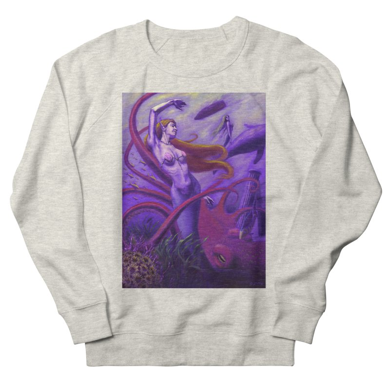 Sea of Bliss Men's French Terry Sweatshirt by ZoltanArt