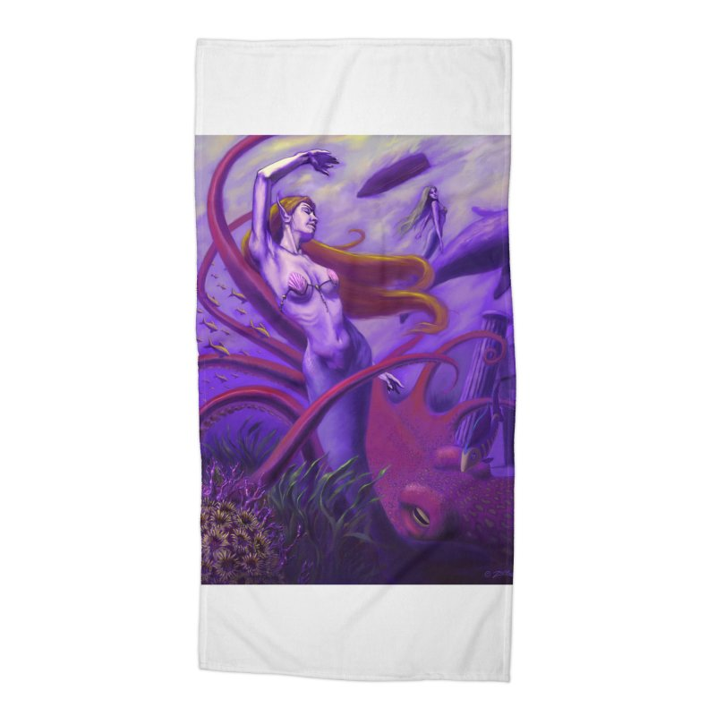 Sea of Bliss Accessories Beach Towel by ZoltanArt