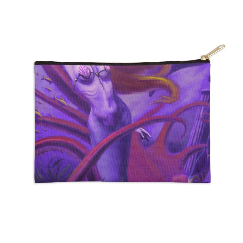 Sea of Bliss Accessories Zip Pouch by ZoltanArt