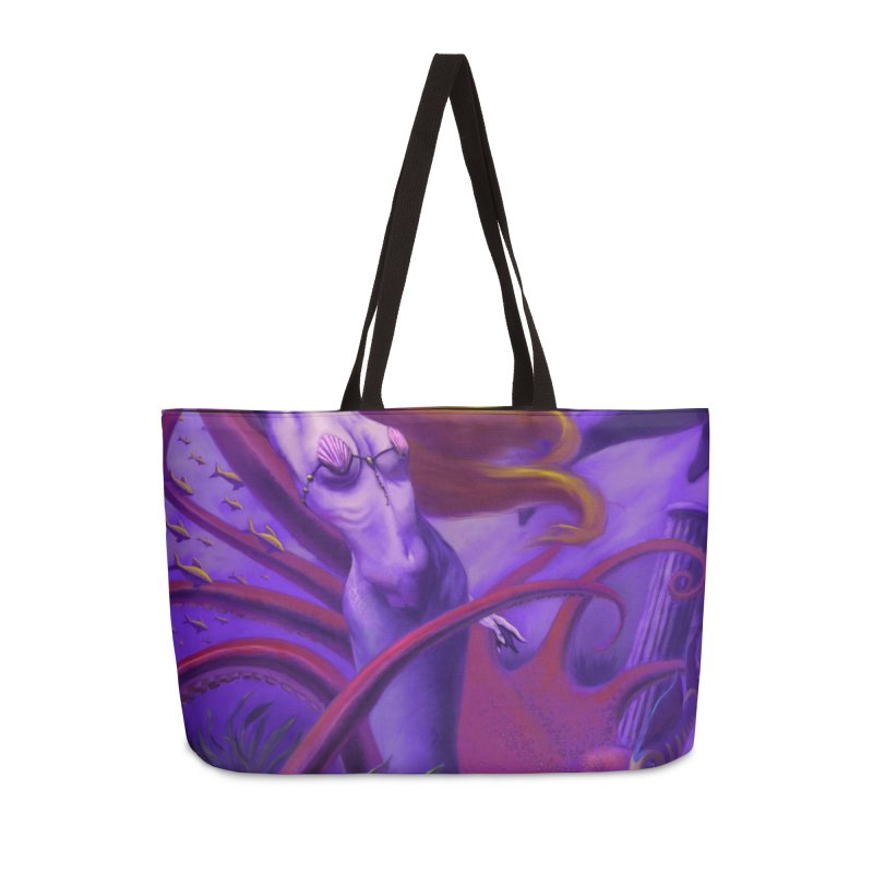 Sea of Bliss Accessories Weekender Bag Bag by ZoltanArt