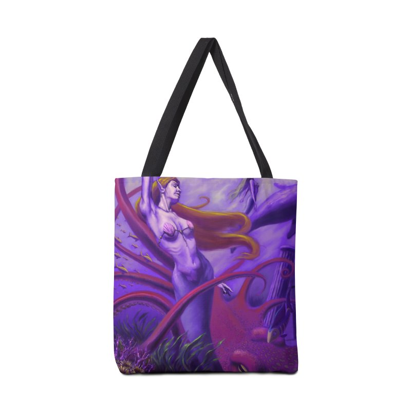 Sea of Bliss Accessories Bag by ZoltanArt