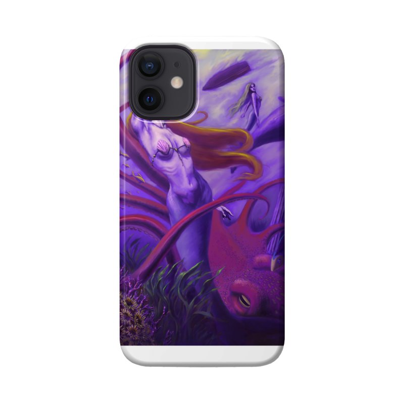 Sea of Bliss Accessories Phone Case by ZoltanArt