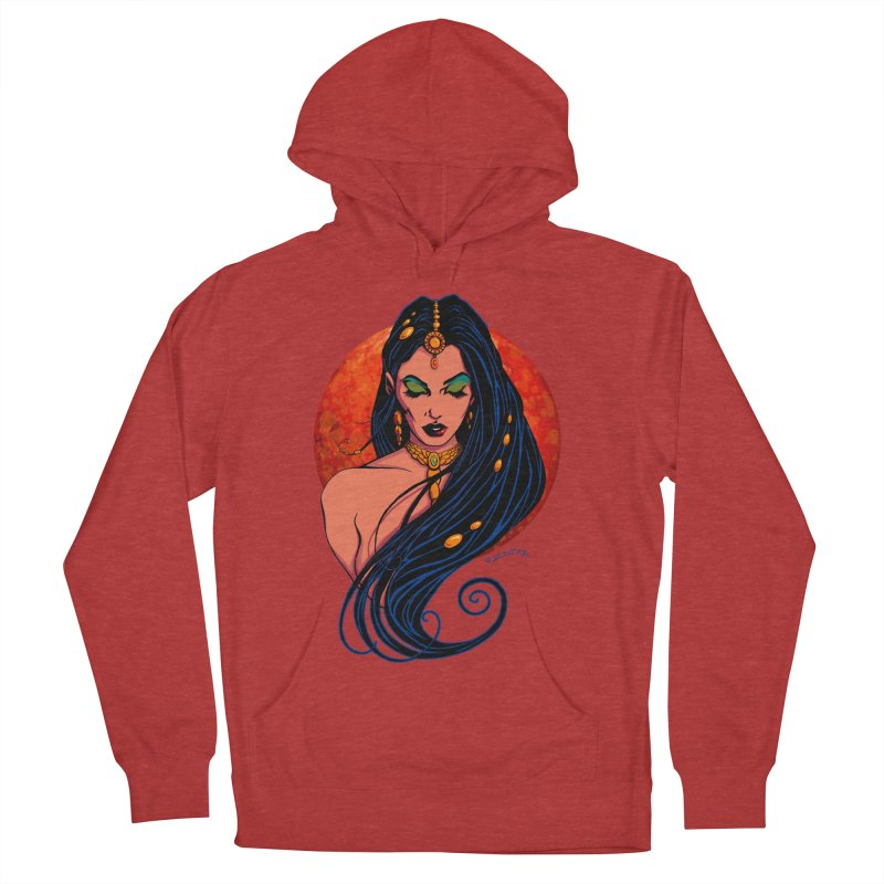 Martian Princess Women's French Terry Pullover Hoody by ZoltanArt