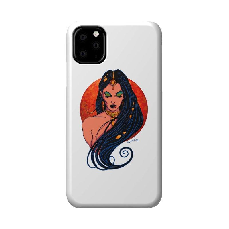 Martian Princess Accessories Phone Case by ZoltanArt