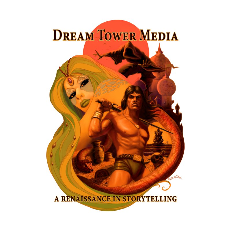 Dream Tower Media Fantasy Adventure Poster by ZoltanArt