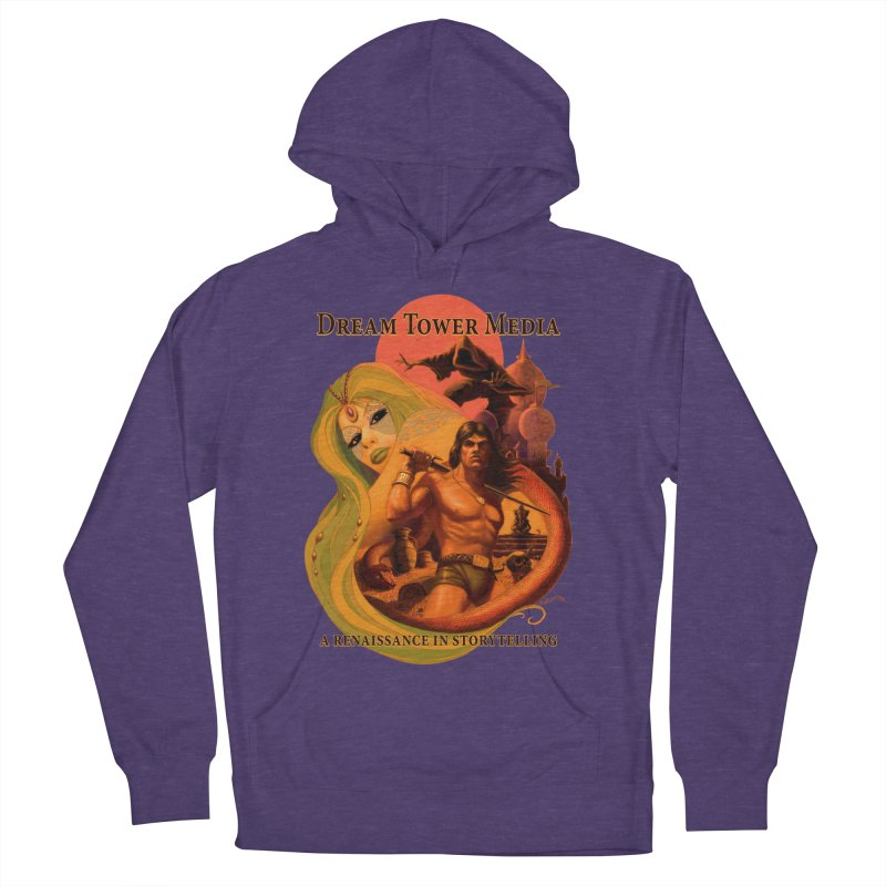 Dream Tower Media Fantasy Adventure Poster Women's French Terry Pullover Hoody by ZoltanArt
