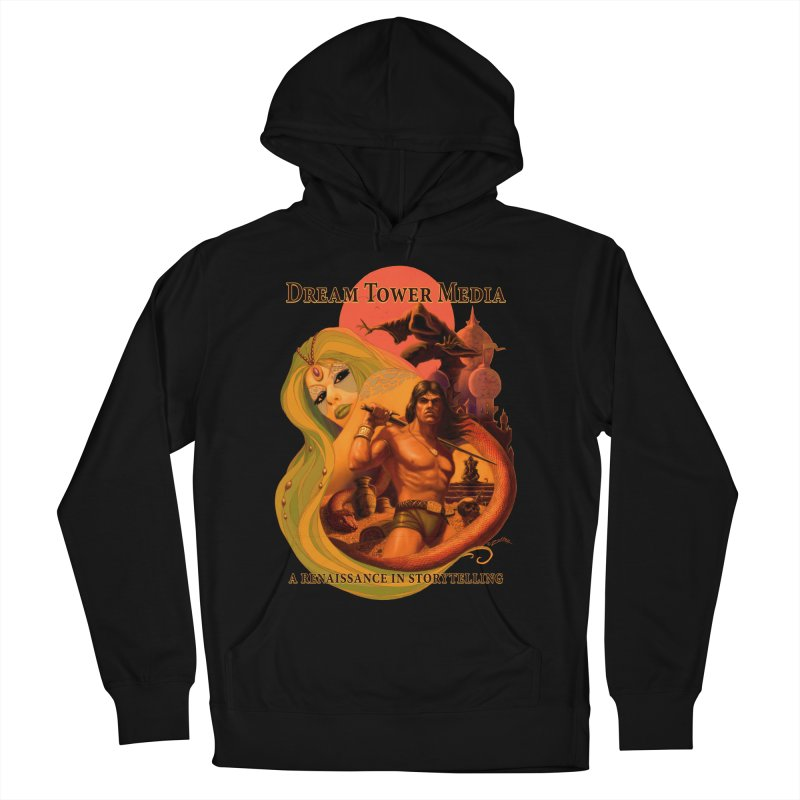 Dream Tower Media Fantasy Adventure Poster Men's French Terry Pullover Hoody by ZoltanArt