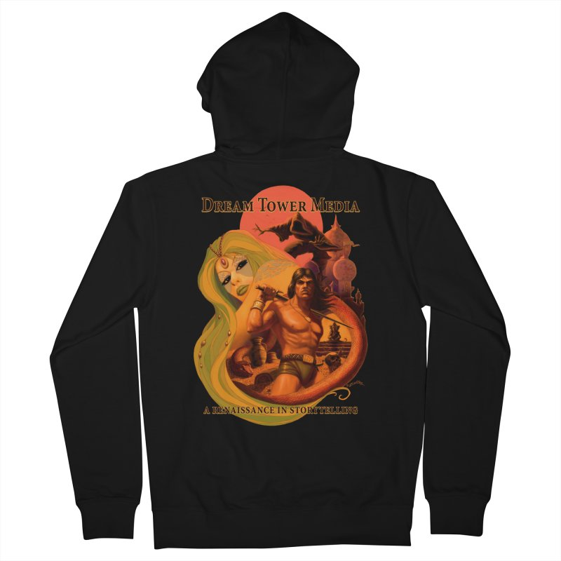 Dream Tower Media Fantasy Adventure Poster Men's Zip-Up Hoody by ZoltanArt