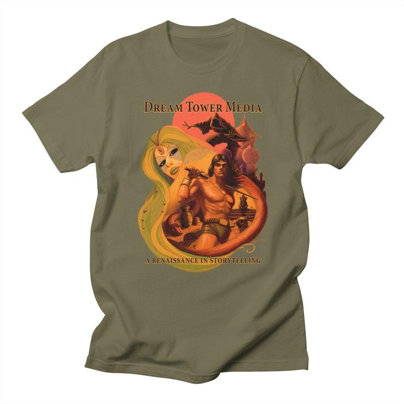 Dream Tower Media Fantasy Adventure Poster Women's Regular Unisex T-Shirt by ZoltanArt